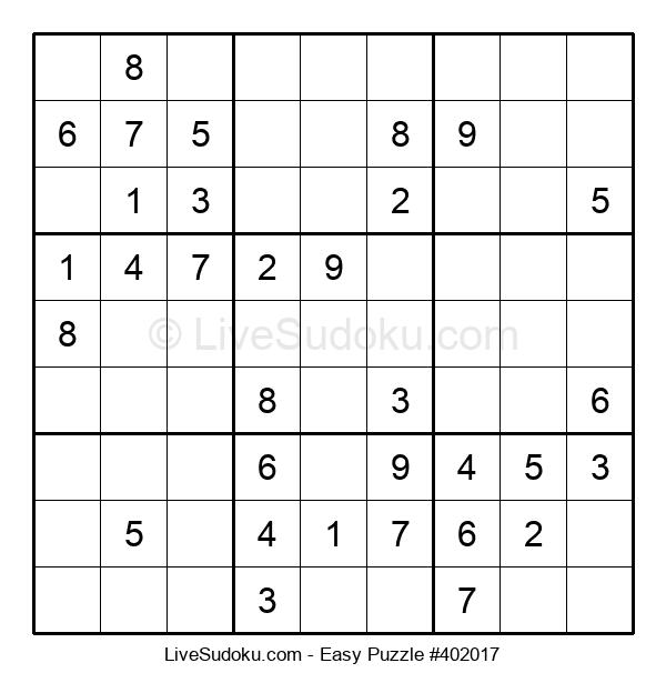 Beginners Puzzle #402017