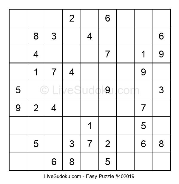 Beginners Puzzle #402019