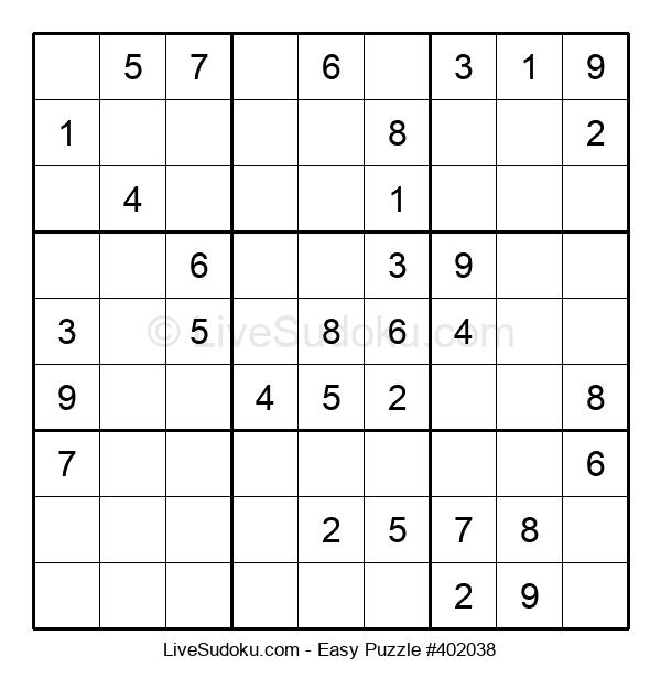 Beginners Puzzle #402038