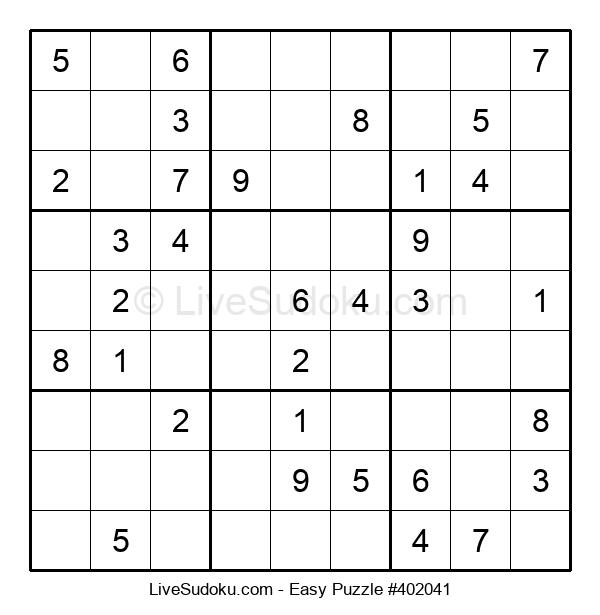 Beginners Puzzle #402041
