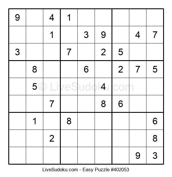 Beginners Puzzle #402053