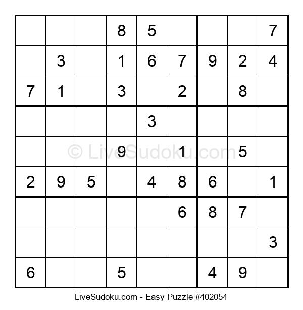 Beginners Puzzle #402054