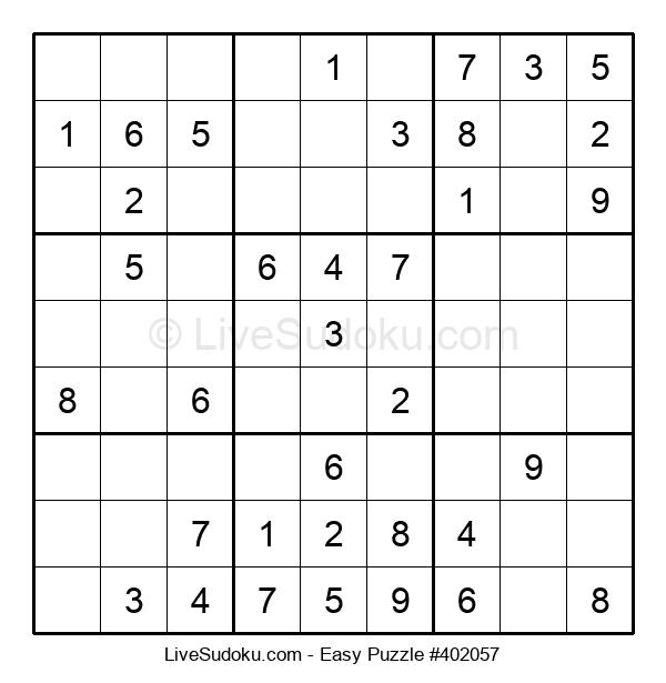 Beginners Puzzle #402057