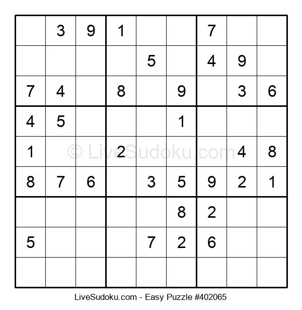 Beginners Puzzle #402065