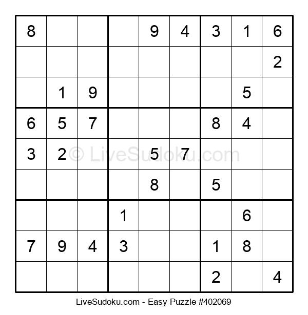 Beginners Puzzle #402069