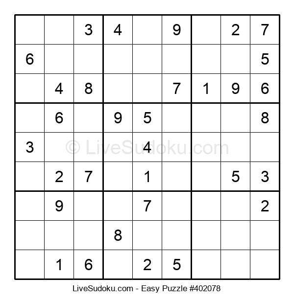 Beginners Puzzle #402078