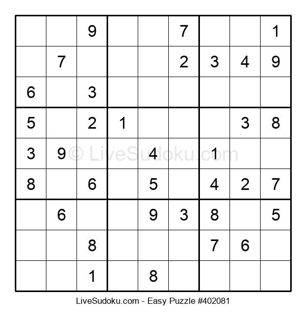 Beginners Puzzle #402081