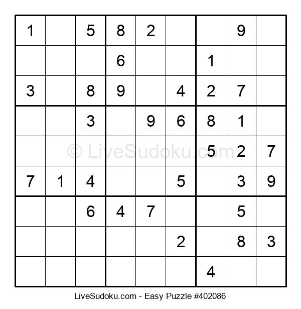 Beginners Puzzle #402086