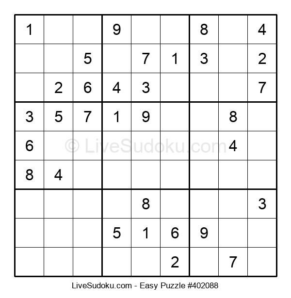 Beginners Puzzle #402088