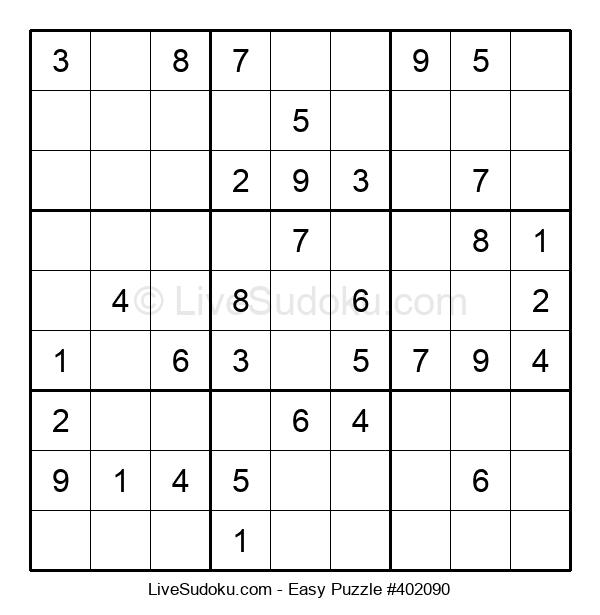 Beginners Puzzle #402090