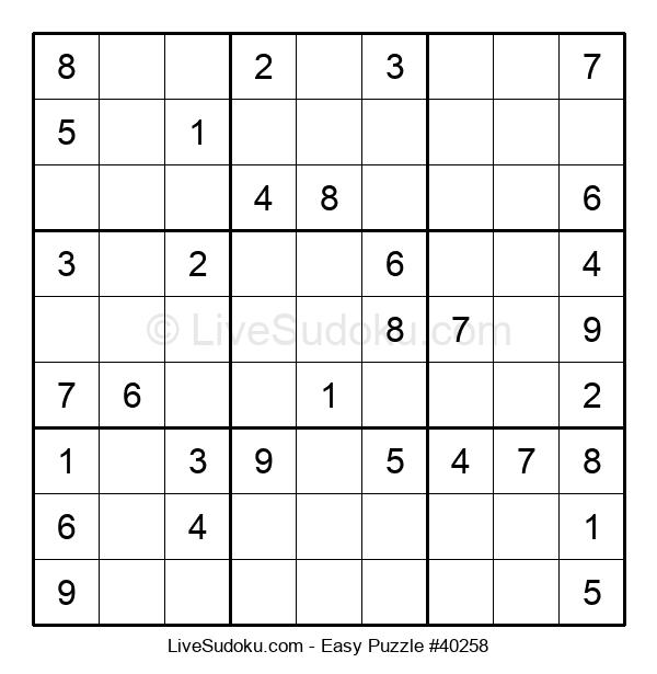 Beginners Puzzle #40258