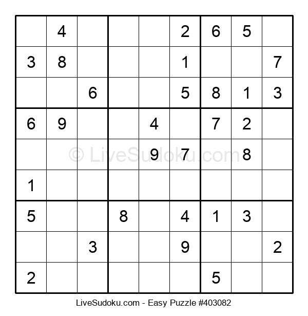 Beginners Puzzle #403082
