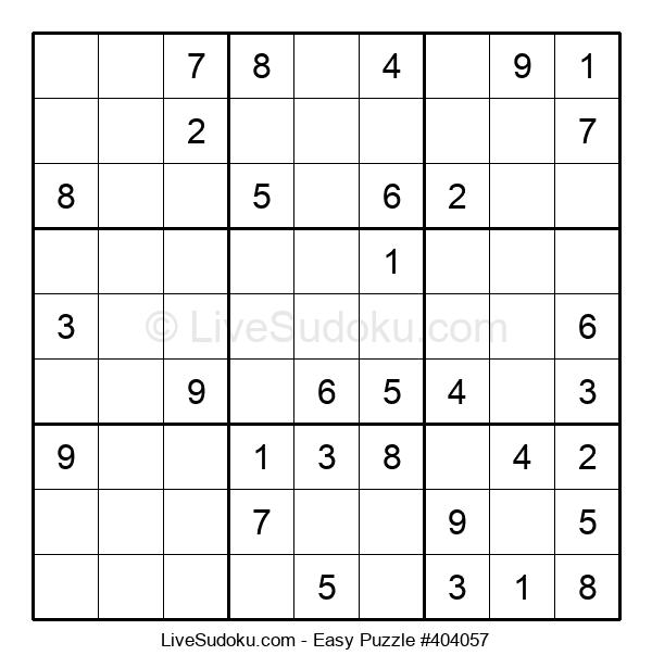 Beginners Puzzle #404057