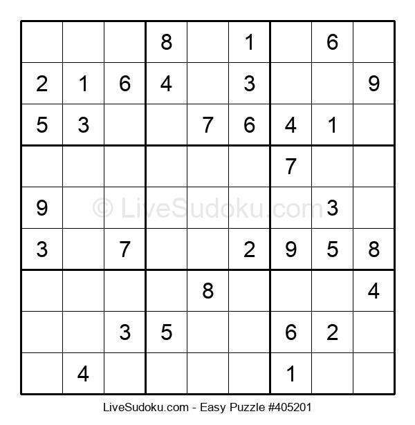 Beginners Puzzle #405201