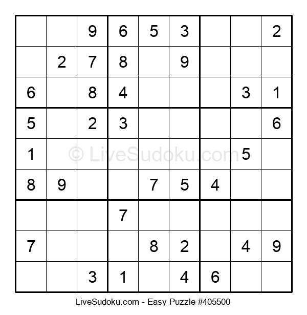 Beginners Puzzle #405500
