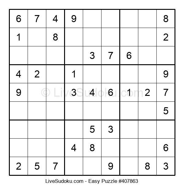 Beginners Puzzle #407863