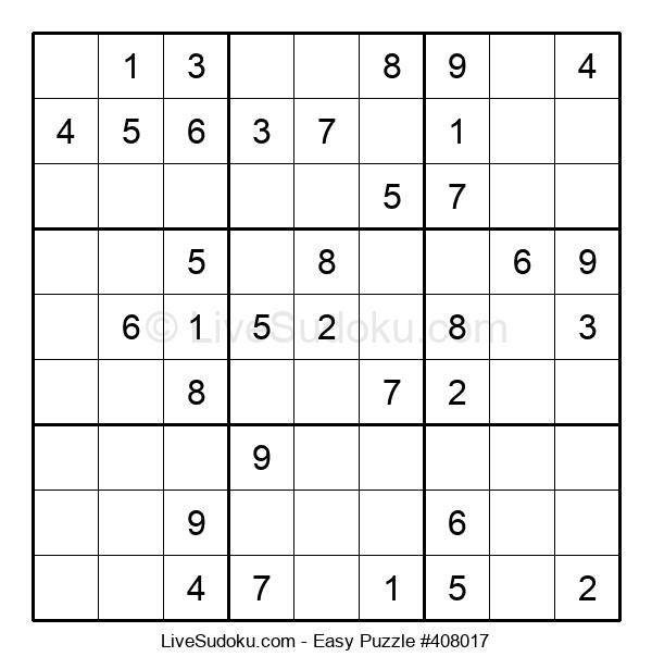 Beginners Puzzle #408017