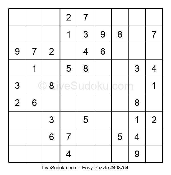 Beginners Puzzle #408764