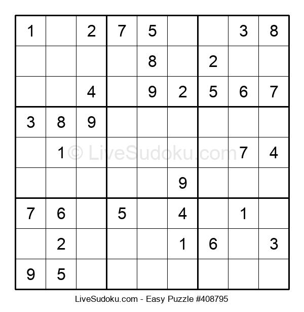 Beginners Puzzle #408795