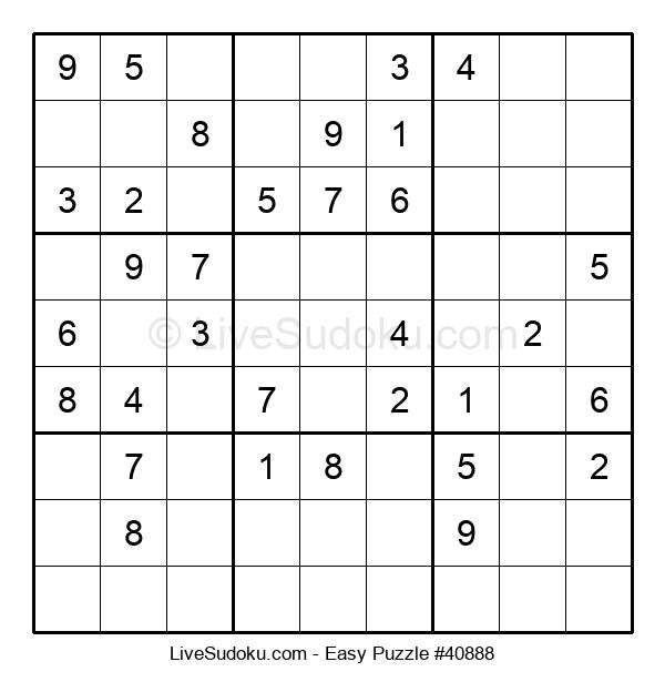 Beginners Puzzle #40888