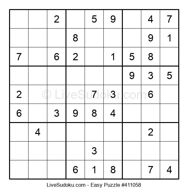 Beginners Puzzle #411058
