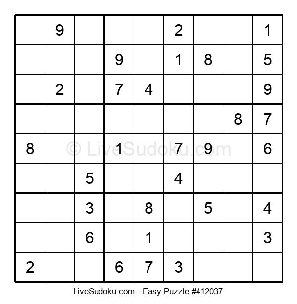 Beginners Puzzle #412037