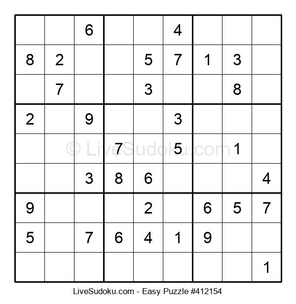 Beginners Puzzle #412154