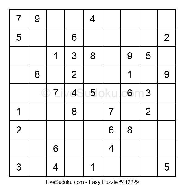 Beginners Puzzle #412229