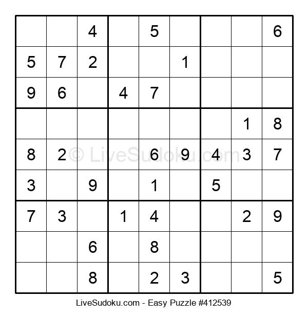 Beginners Puzzle #412539