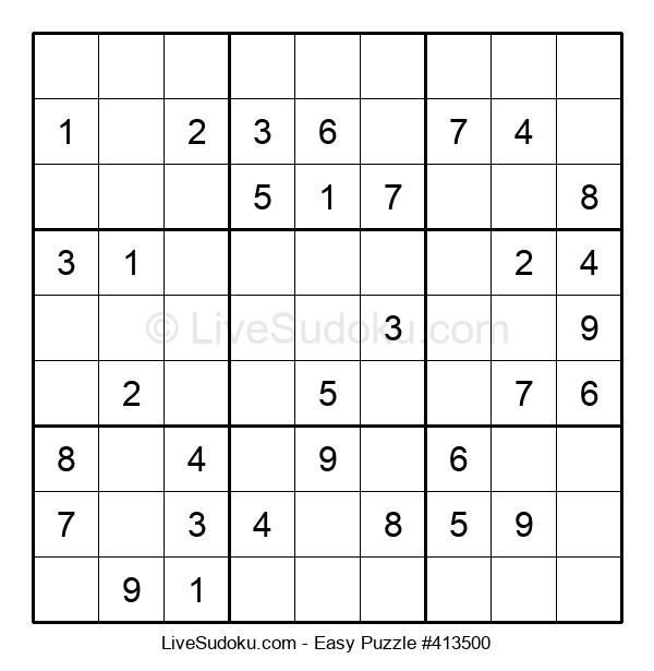 Beginners Puzzle #413500