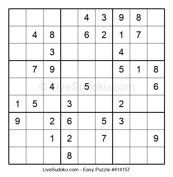 Beginners Puzzle #414157