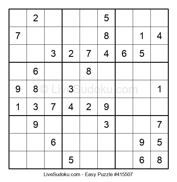 Beginners Puzzle #415507