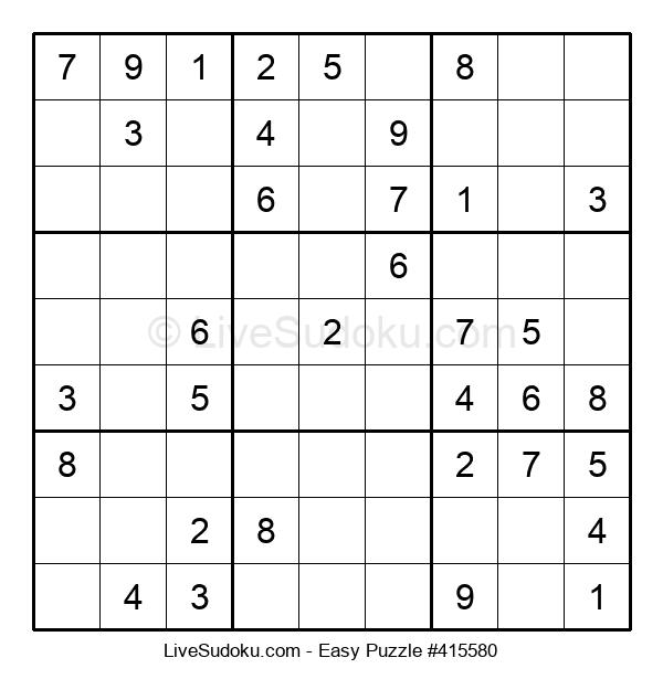 Beginners Puzzle #415580