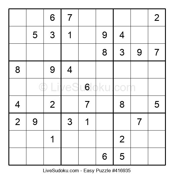 Beginners Puzzle #416935