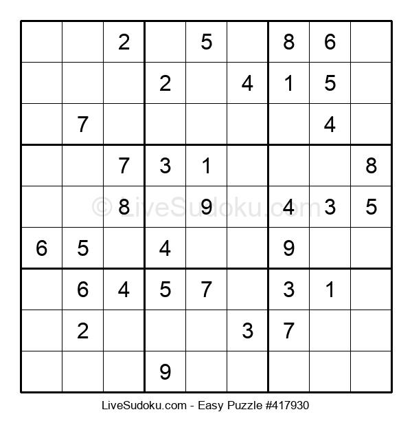 Beginners Puzzle #417930