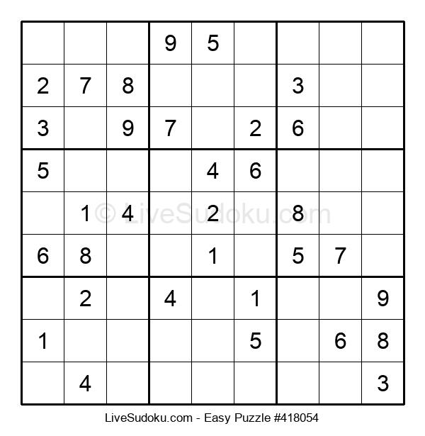 Beginners Puzzle #418054