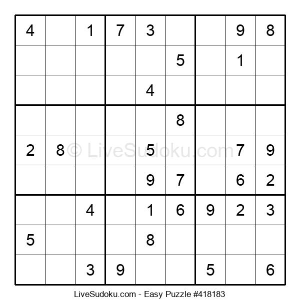 Beginners Puzzle #418183