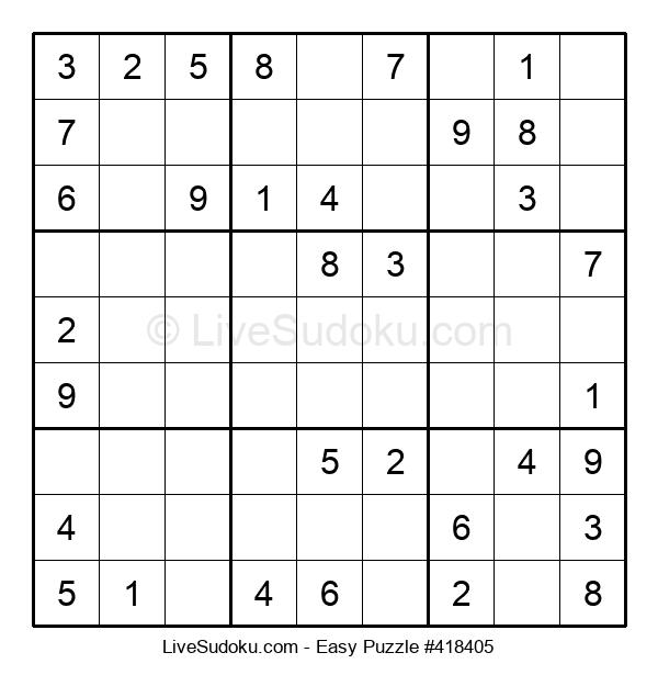 Beginners Puzzle #418405