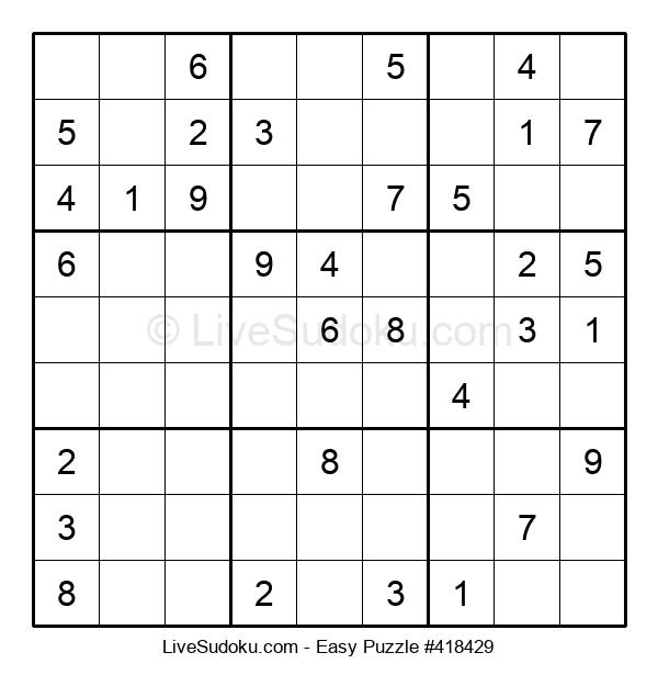 Beginners Puzzle #418429