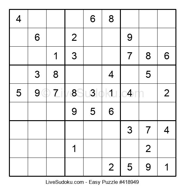Beginners Puzzle #418949