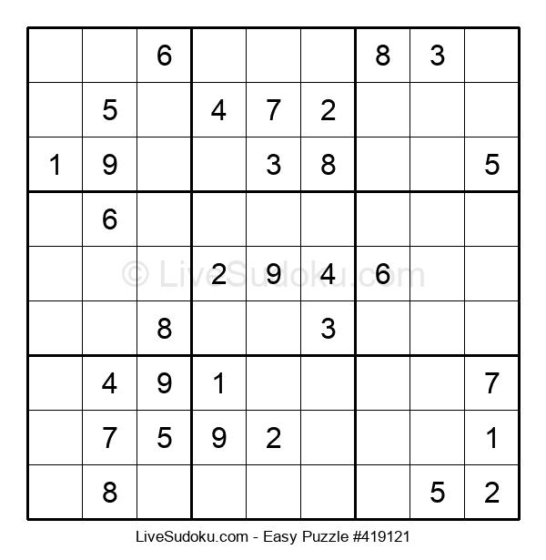 Beginners Puzzle #419121