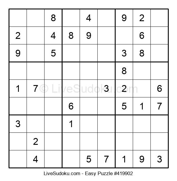 Beginners Puzzle #419902