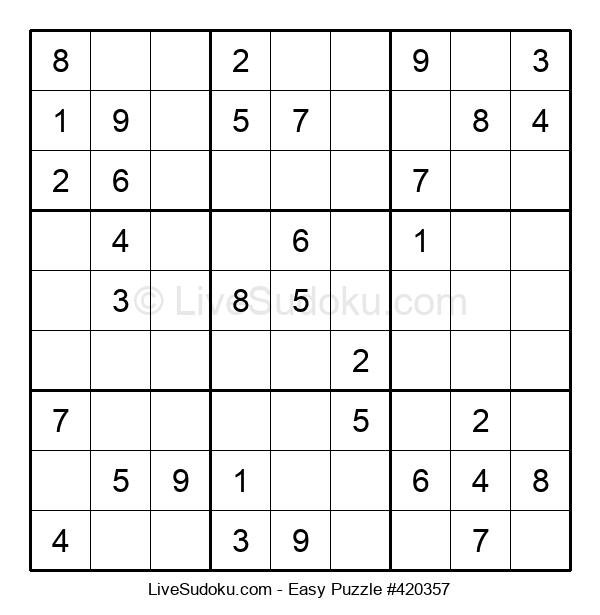 Beginners Puzzle #420357