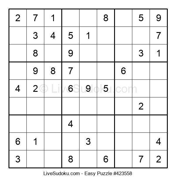 Beginners Puzzle #423558