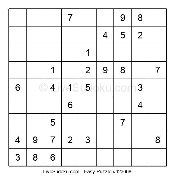 Beginners Puzzle #423668