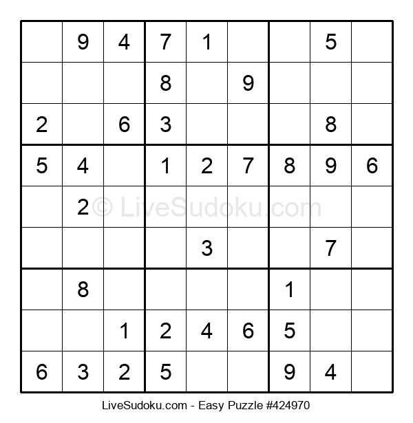 Beginners Puzzle #424970
