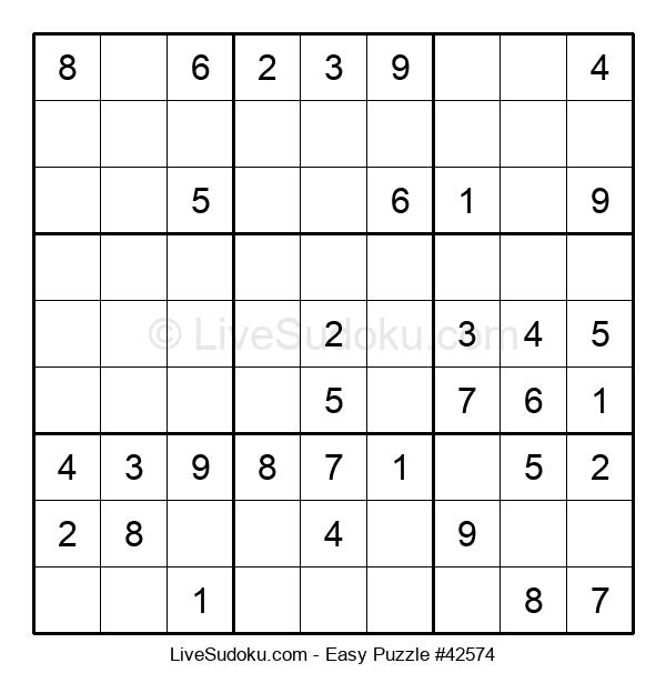 Beginners Puzzle #42574