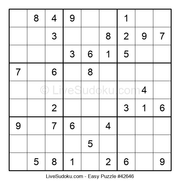 Beginners Puzzle #42646