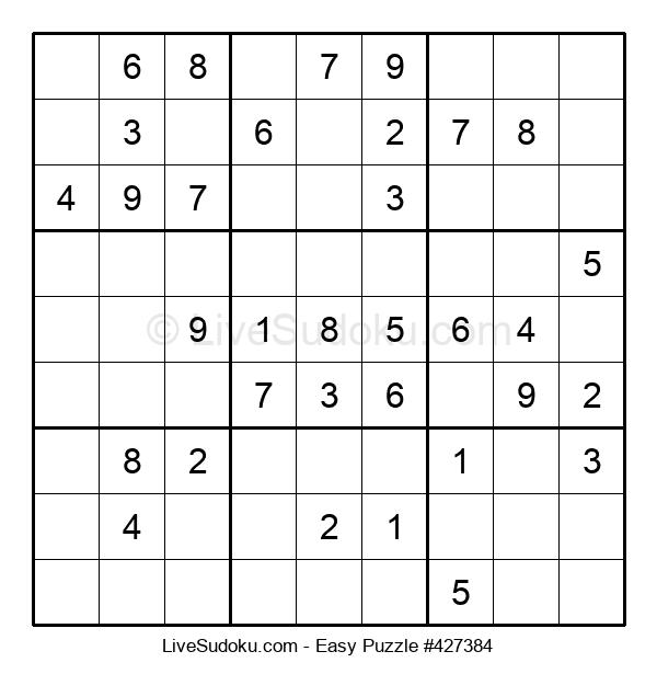 Beginners Puzzle #427384