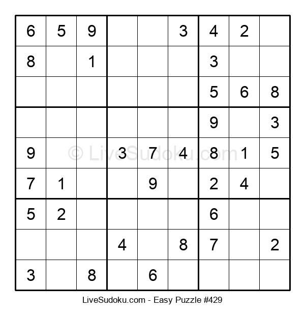 Beginners Puzzle #429